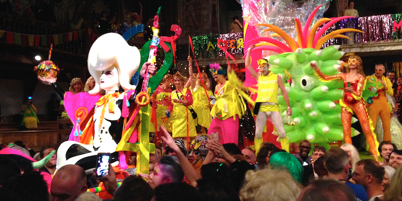 Alternative Miss World 2014 Brings Latex and Glitter to
